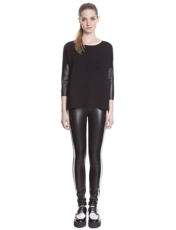 Pantalon Parfois Noir - Pantalons Sandro - E-Boutique Officielle SANDRO / Collection Printemps-Été 2013 SANDRO