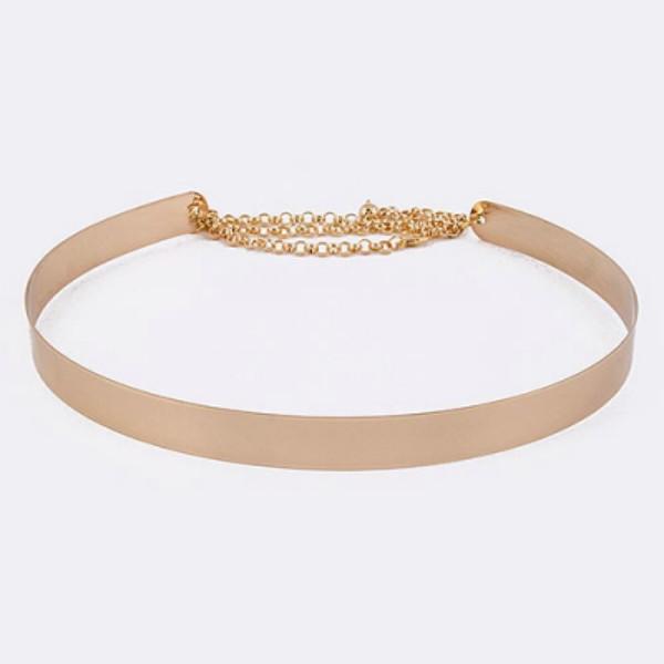 belt gold belt gold chained belt