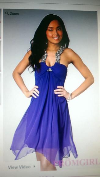 homecoming dress purple dress