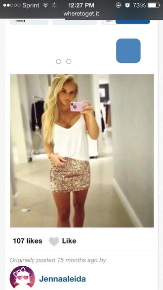 skirt sequence mini skirt
