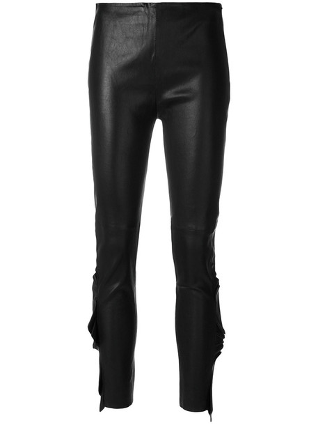 Iro women spandex cotton black pants