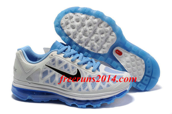 shoes sneakers white black blue nike air max 2011 men 2011 air max