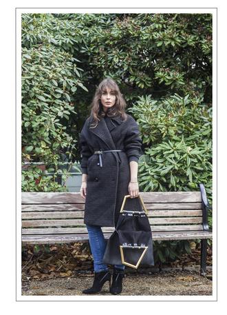 a portable package blogger jeans belt bag black boots