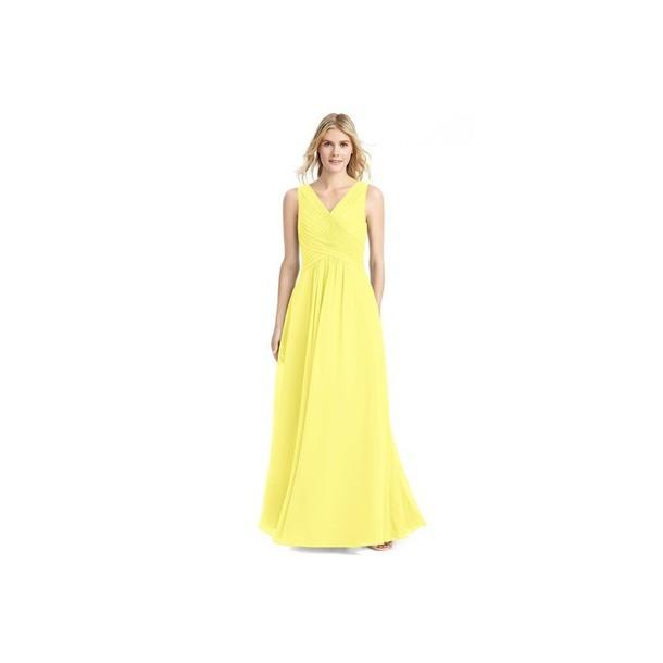dress floral lemongrass bridesmaid