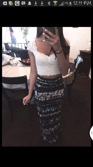 crop tops blouse lace lace, white, crop top bustier lace bustier