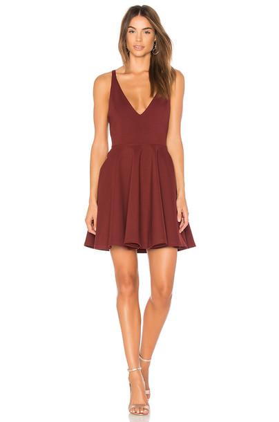 Minkpink dress night dress red