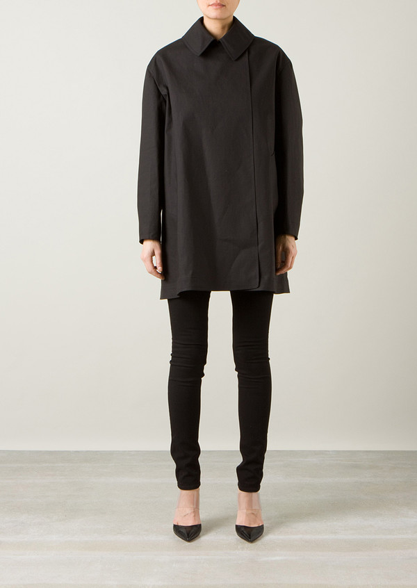 coat azzedine alaia black coat