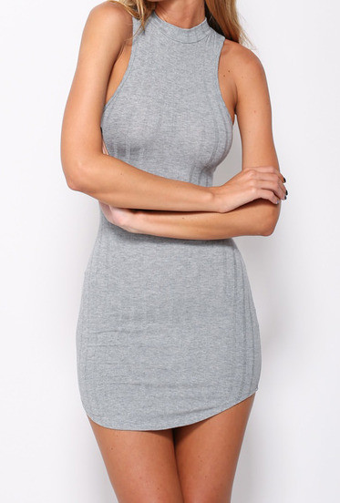 Ribbed Tank Bodycon Dress – Outfit Made
