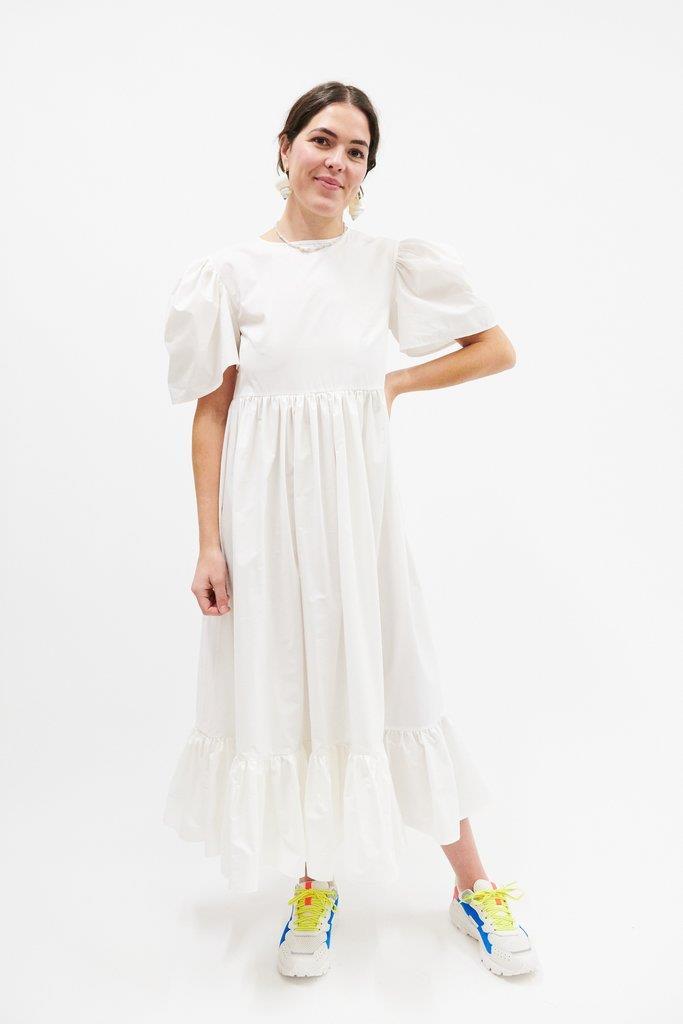 Elizaveta Dress - White