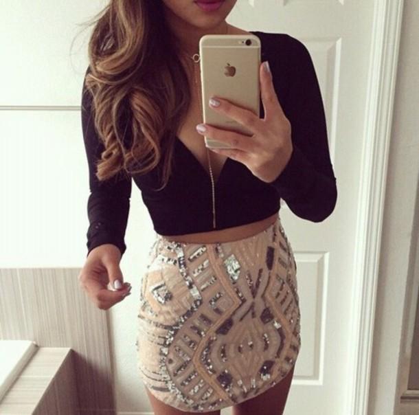 skirt jewels