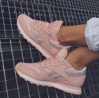 shoes pink reebok shoes reebok