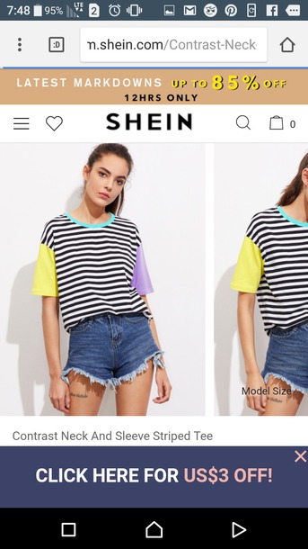 shirt colorful colorblock stripes