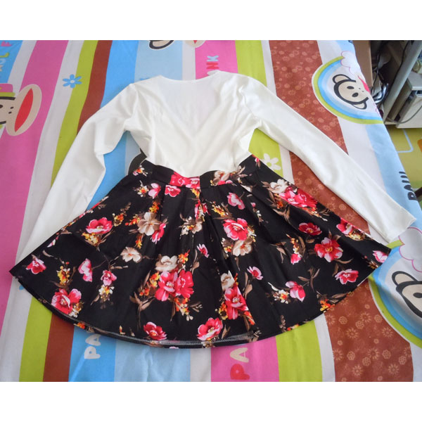 Floral skater dress · penny's closet · online store powered by storenvy
