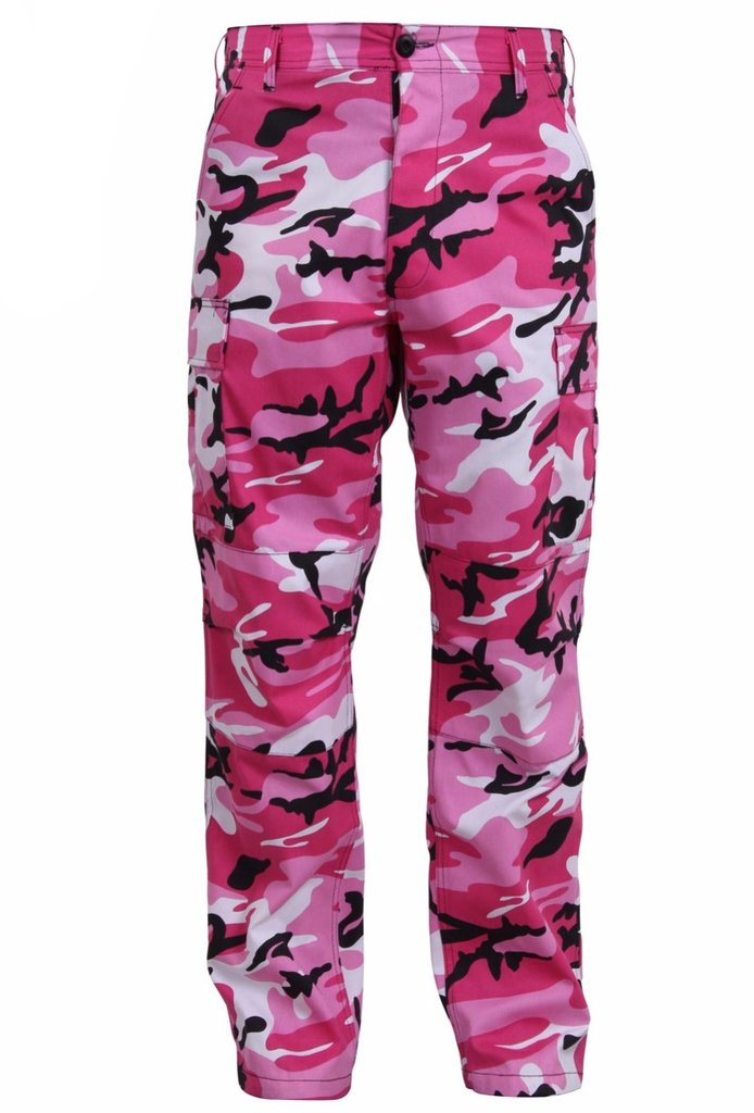 Rothco Color Pink Camo Tactical BDU Pant