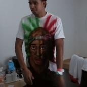 t-shirt,tupac,mexico,mexican shirt