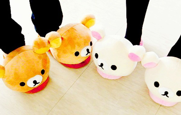 shoes cat eye slippers cute pajamas
