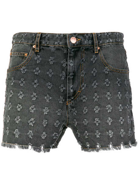 Isabel Marant etoile shorts denim shorts denim high women cotton grey