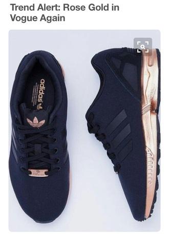 shoes rose gold black nike