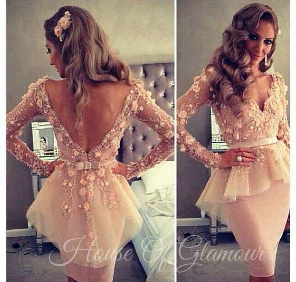 dress backless prom dress backless dress peplum dress prom dress party dress lace dress customized