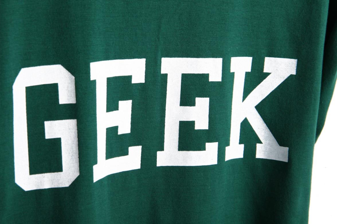 Trend 2013 sty nda roll up sleeve at random hem geek loose letter T shirt-inT-Shirts from Apparel & Accessories on Aliexpress.com