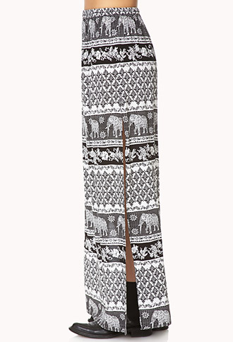 Elephant Safari Skirt | FOREVER21 - 2000126338
