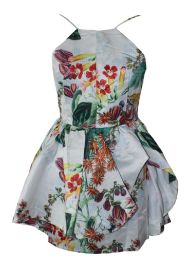 Tropica Puff Dress