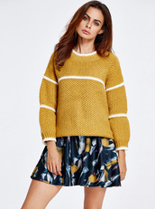 sweater,sweater dress,sweater weather,sweaters cute print food yum,knit,knitwear,knitted sweater,knitted cardigan,fall outfits,fall sweater,yellow,yellow sweater