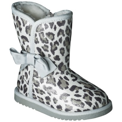 Toddler Girl's Circo® Debbie Boot - Silver : Target