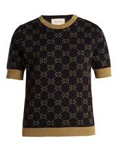 sweatshirt,jacquard,cotton,knit,blue,sweater