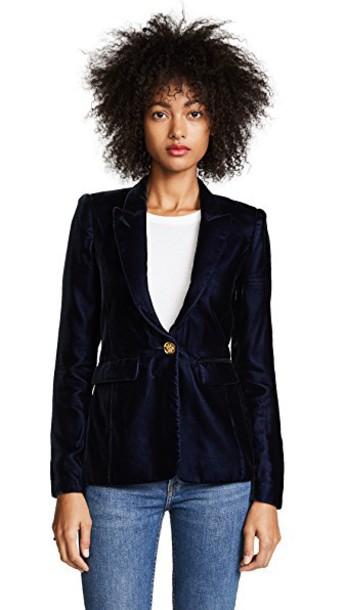 SMYTHE blazer velvet jacket