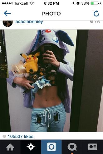pajamas pokemon pukkatchu pikatchu acacia brinley pokemons