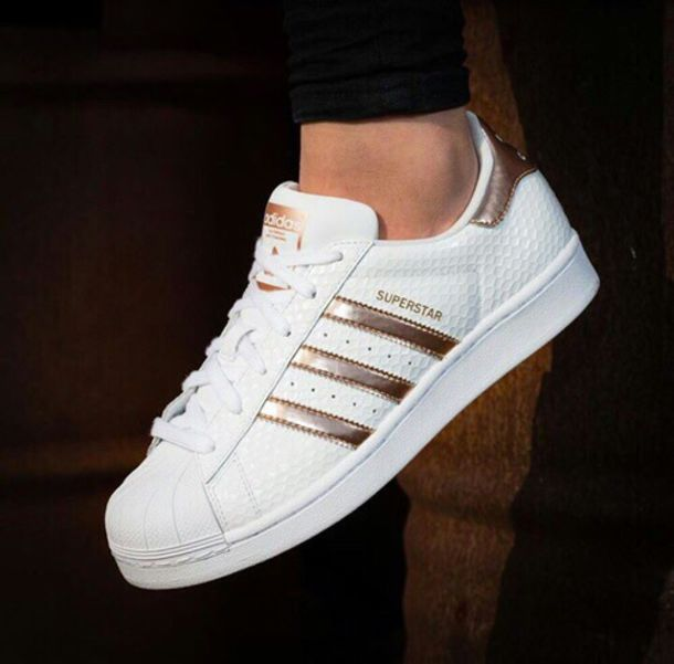 shoes rose gold adidas adidas superstars white adidas. Black Bedroom Furniture Sets. Home Design Ideas
