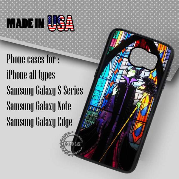 Samsung S7 Case - Stained Glass Princess - iPhone Case #SamsungS7Case #Maleficent #yn
