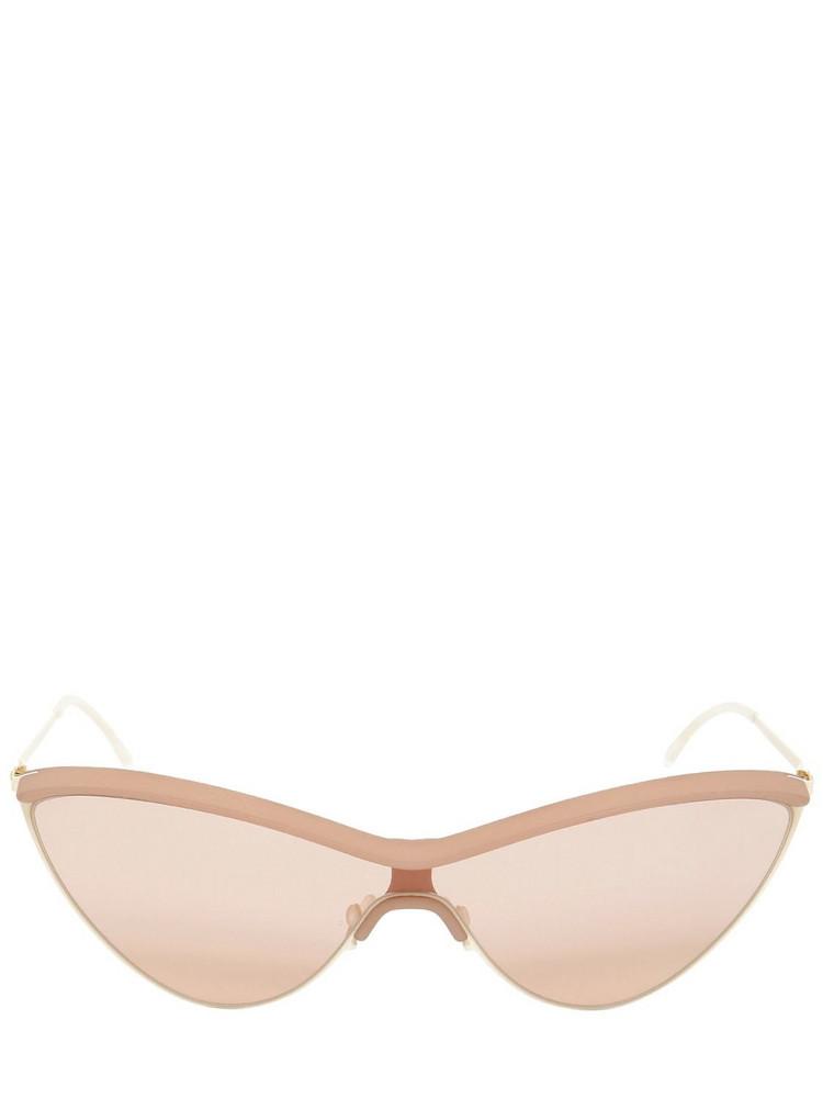 MYKITA Mmecho002 Maison Margiela Sunglasses in beige / beige