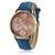 fashion Map Watch By Plane Watches Women Men Denim Fabric Quartz Watch 7 color Cowboy strap sports watches
