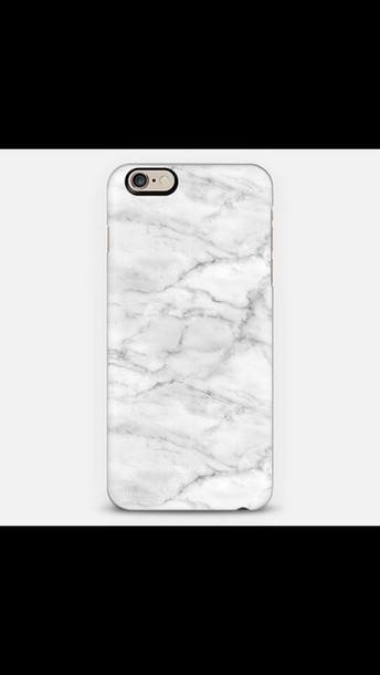phone cover white marble