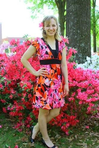 dress spring dress floral dress