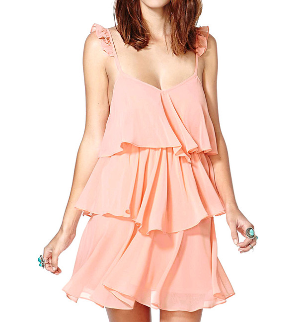 dress pink dress streetstyle cute pretty summer dress