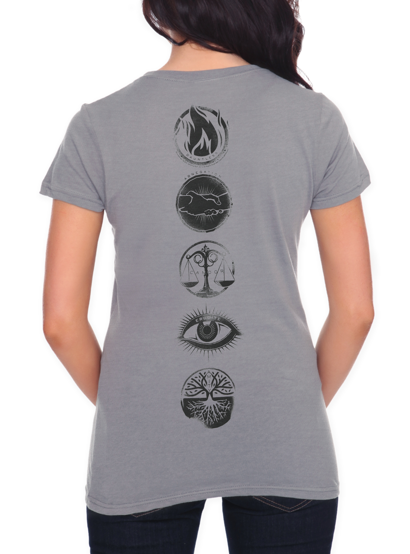 Divergent Five Factions Girls T-Shirt | Hot Topic