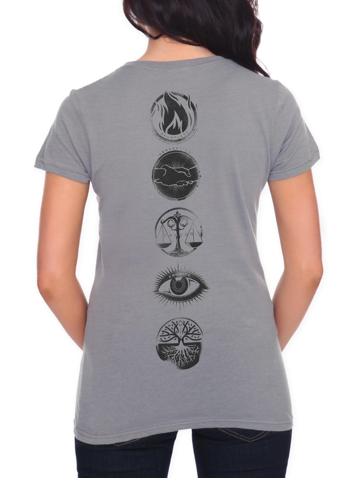 Divergent Five Factions Girls T-Shirt | Hot Topic