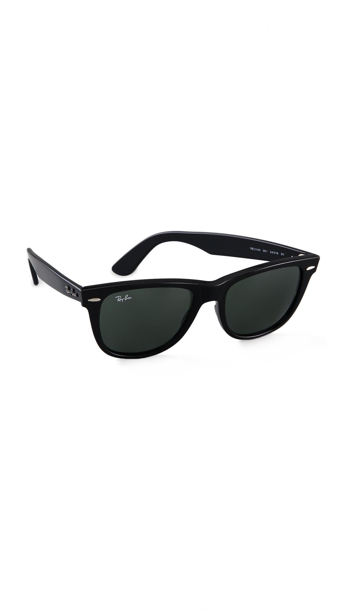 Ray-Ban Outsiders Oversized Wayfarer Sunglasses | SHOPBOP