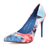 Floral Vintage Cloth Pointed Toe Stiletto Heel Pumps : KissChic.com
