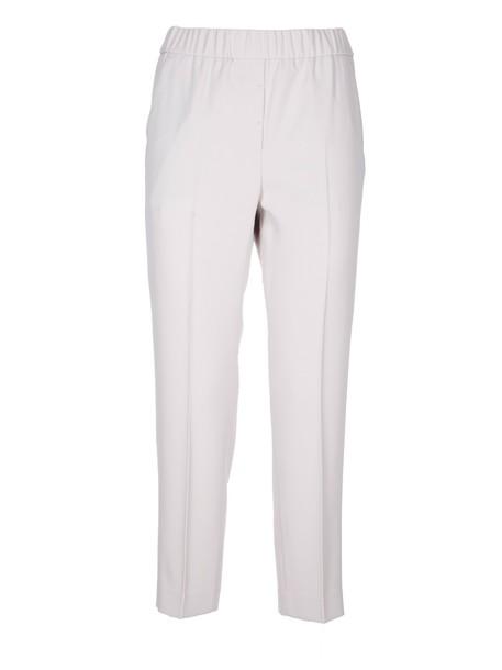 Peserico cropped white pants
