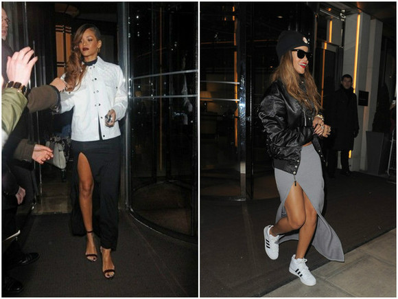 rihanna skirt swag clothes clothing nike sneakers