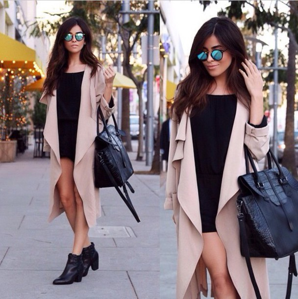 cardigan nude beige waterfall layered rolled jacket