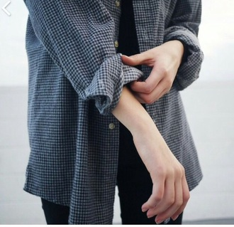 blouse style flannel winter outfits