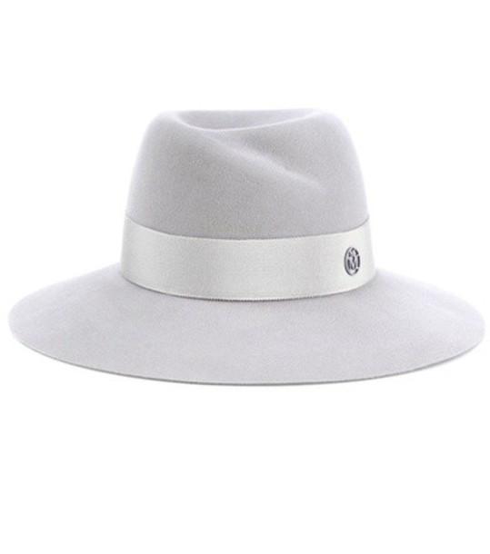 Maison Michel fedora grey hat