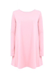 dress,baby pink,90s style,pink,smock dress,cute