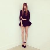 dress,studs,cute,girly,doll,fashion,pretty,flare skirt,style,babydoll dress,black