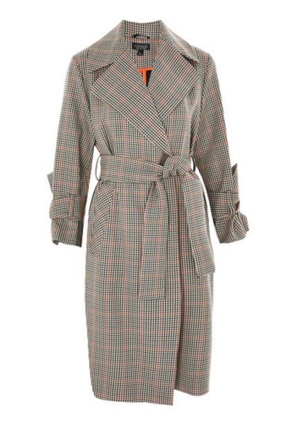 Topshop coat trench coat